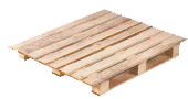 Four way entry pallet wing type