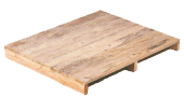 Two way entry pallet no base board