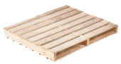 Two way entry pallet reversible